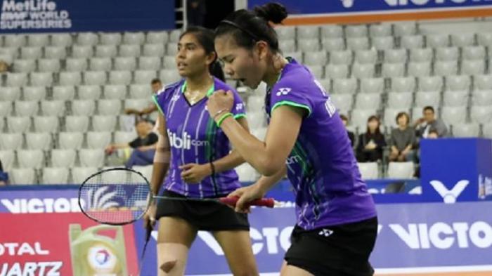 Greysia-Nitya Libas Pasangan Korea, Lolos Semi Final