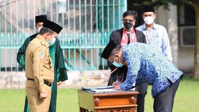 Gubernur Al Haris Kukuhkan 209 Pejabat Eselon II, III dan IV di Lingkup Pemprov Jambi