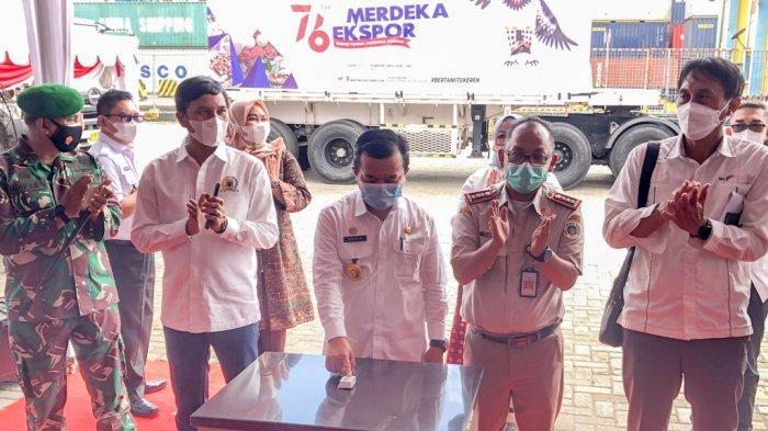 72 Ton Komoditas Pertanian Jambi Diekspor ke Delapan Negara