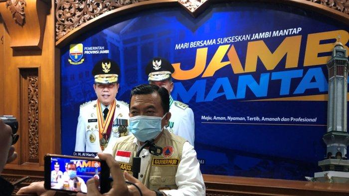 PPKM Diperpanjang, Gubernur Jambi Dukung Langkah Satgas Covid-19 Pusat
