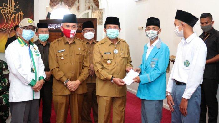 Fachrori Umar Bersinergi Dengan Baznas dan Bank Jambi Perkuat Pendidikan di Jambi