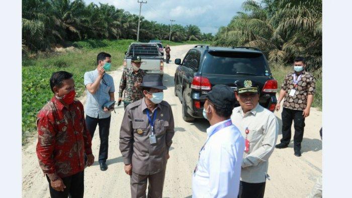Fachrori: Pemprov akan Perbaiki Jalan Ruas Simpang Panerokan Sungai Bahar