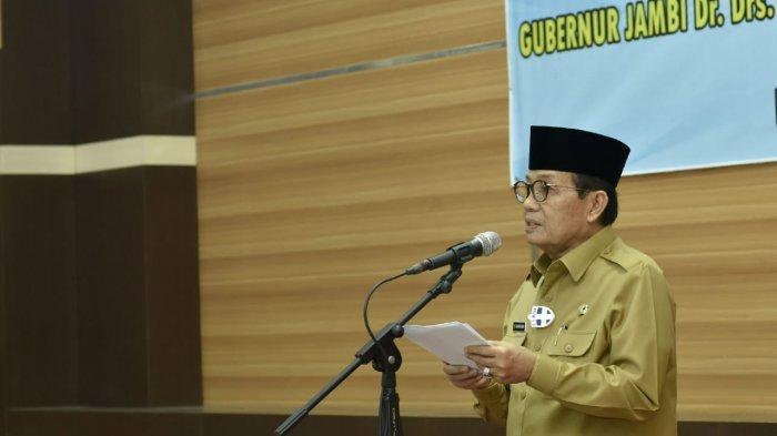 Gubernur Jambi DR Drs H Fachrori Umar