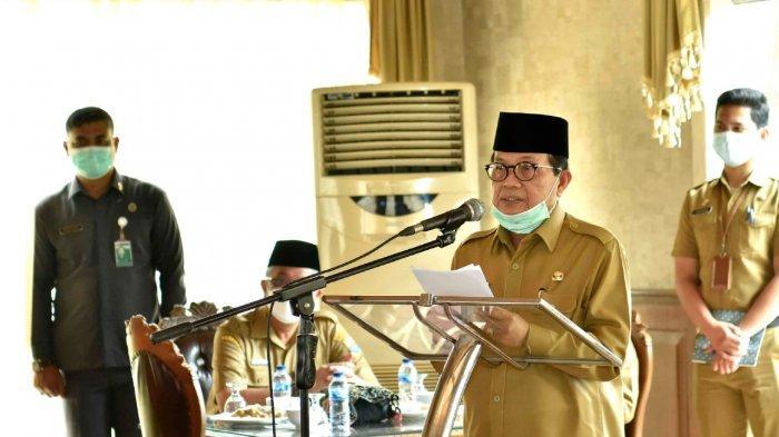 Gubernur Jambi Dr.Drs.H.Fachrori Umar,M.Hum mengemukakan, bantuan pendidikan dari Baznas dan CSR Bank Jambi untun pondok pesantren sebagai motivasi untuk terus berprestasi dalam peningkatan kualitas pembangunan pendidikan di Provinsi Jambi.