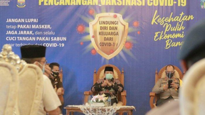 Gubernur Jambi, dukung dan sukseskan Vaksinisasi Covid-19 di Jambi