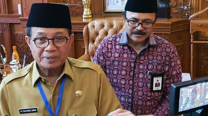 Gubernur Fachrori Doakan Wali Kota Jambi Segera Sembuh dari Covid-19