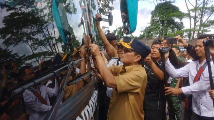 Mudik Lebaran 2019, Gubernur Jambi Fachrori Umar Minta Jembatan Timbang Dijadikan Rest Area