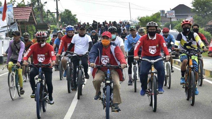 Gubernur Jambi Giatkan Olahraga Sepeda Hadapi Pandemi Covid-19
