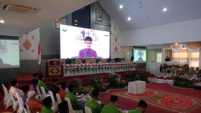 HUT Kabupaten Merangin ke-71 Dilakukan Sederhana, Gubernur Jambi Hadir Melalui Virtual