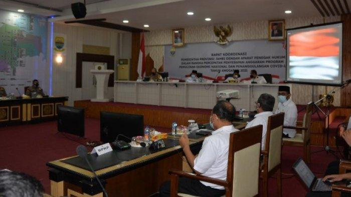 Gubernur Jambi: Aparat Penegak Hukum Awasi Dana PEN dan Penanganan Covid-19