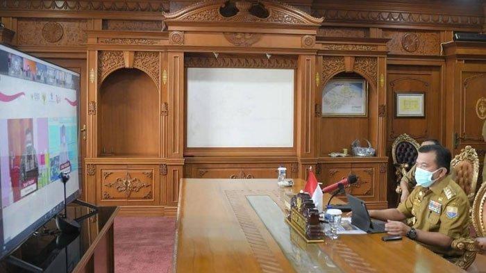 Gubernur Jambi Al Haris Hadiri Secara Virtual Peresmian Peluncuran Online Dingle Submission