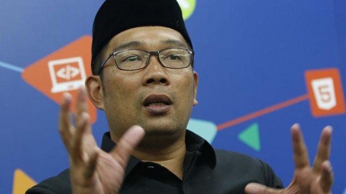 Gubernur Jawa Barat M Ridwan Kamil