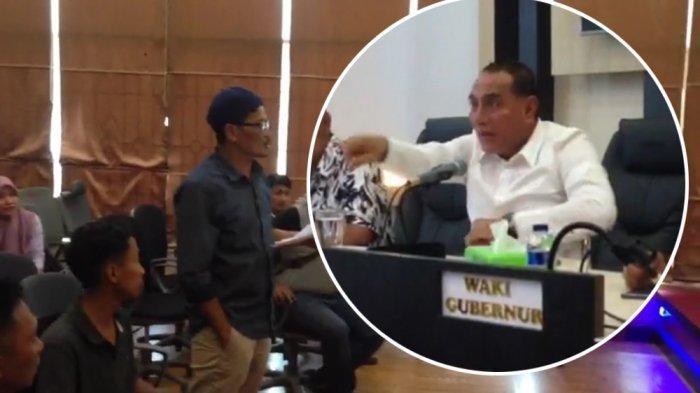 Gubernur Tantang Demonstran Berkelahi di Kantor, Lihat Videonya