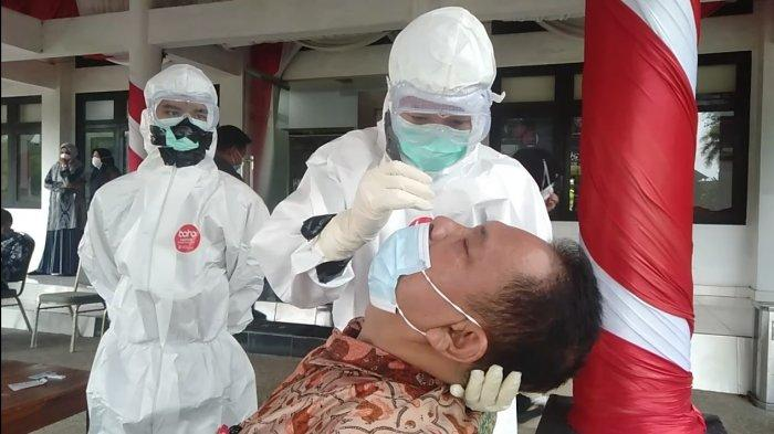 Guna Hadiri Paripurna HUT Kota dan Pemkot Jambi, Kepala OPD di Pemkot Jambi Dirapid Antigen