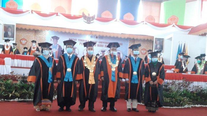 Rektor Universitas Jambi Kukuhkan Empat Guru Besar