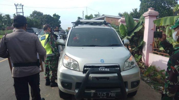 H-1 Penyekatan Jalur Mudik di Perbatasan Jambi-Sumatera Selatan Terpantau Sepi Angkutan Penumpang