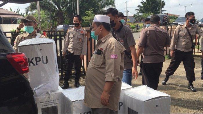 H-1 PSU Pilgub Jambi di Batanghari, Logistik Mulai Didistribusikan KPU