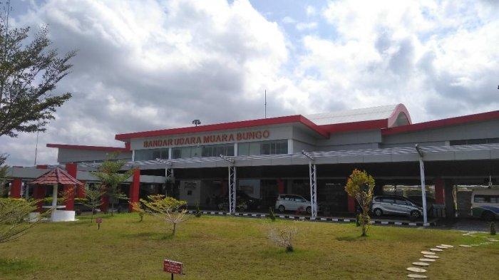 H-8 Idul Fitri, Belum Tampak Lonjakan Penumpang di Bandara Muara Bungo, Ini Kata Kepala Bandara