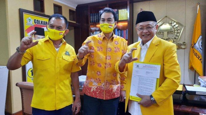 Kantongi Rekom Golkar, CE Coba Satukan Golkar-PDIP