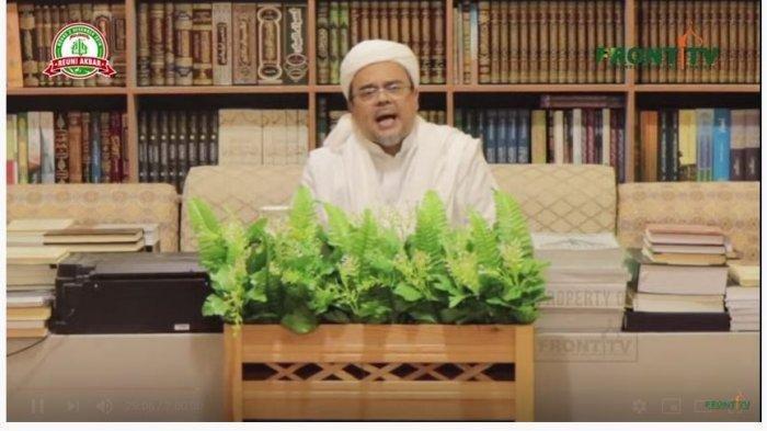 Kondisi Habib Rizieq Dinyatakan Negatif Covid-19, Walikota Bogor: Beliau Minta Tidak Dijenguk