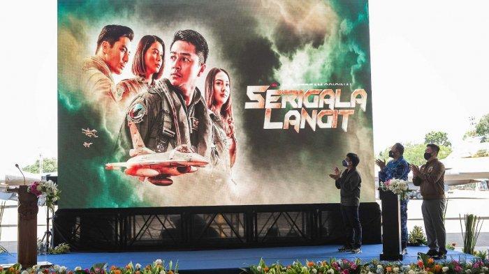 Hadiah Istimewa HUT RI ke-76, Telkomsel, TNI AU dan E-Motion Merilis Film Serigala Langit