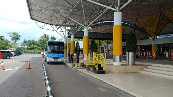 Halte Trans Siginjai Hadir di Dalam Bandara Sultan Thaha Jambi