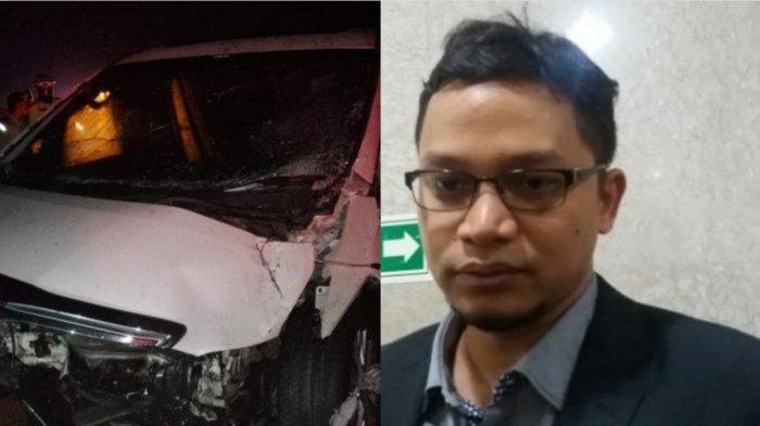 Anak Amien Rais Alami Kecelakaan Beruntun di Tol Cipali, Mobil Alphard Milik Hanafi Rais Ringsek