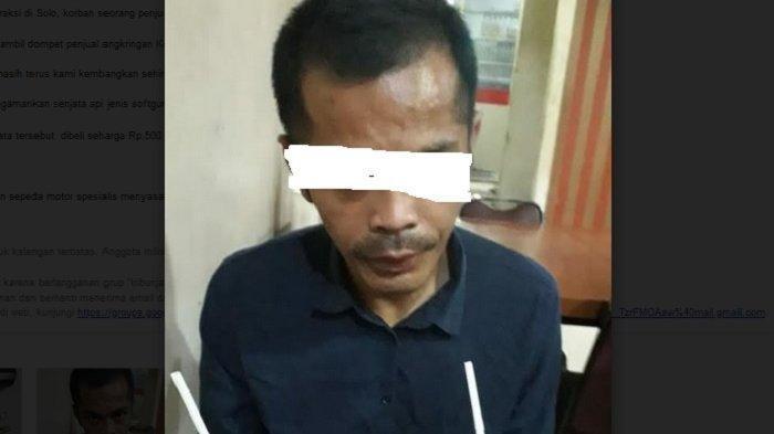 Mengaku Anggota TNI agar Makan Gratis di Warung, Ternyata Pria Ini Pencuri Sepeda Motor