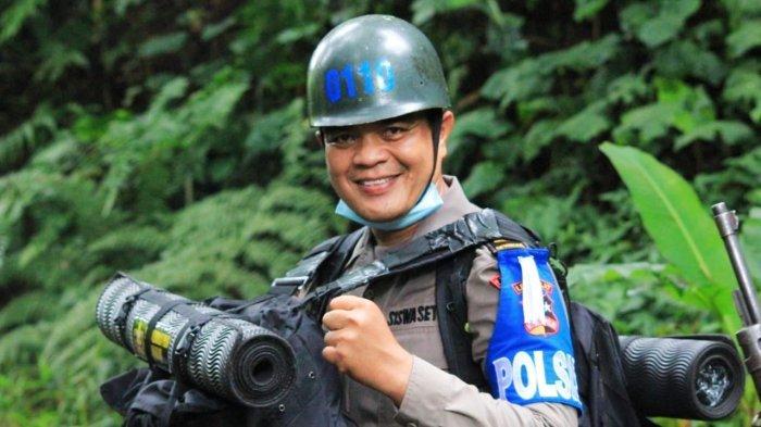 Hans Simangunsong Polisi 'Andy Lau' Indonesia dari Polda Jambi Lulus Perwira