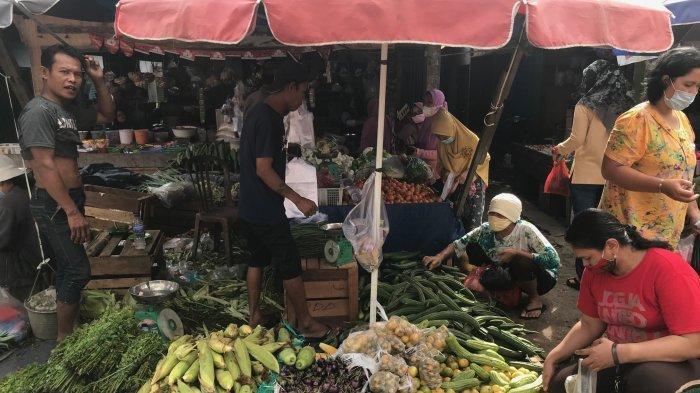 Awal Agustus, Harga Bahan Pokok Pangan Tiga Pasar Besar di Kota Jambi Cenderung Stabil