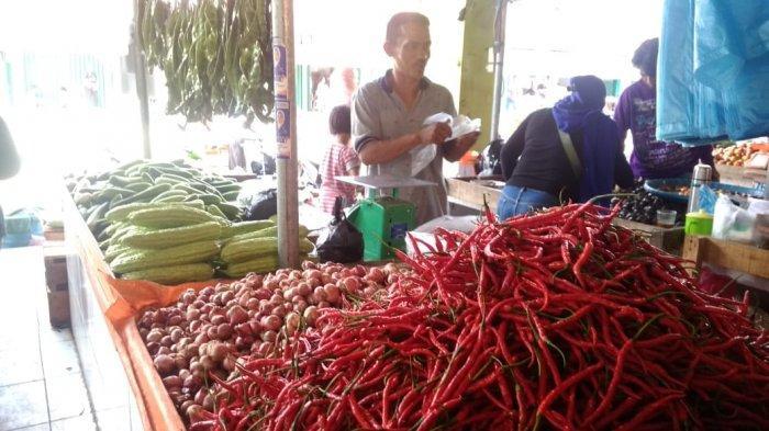 Harga Sembako Pemantauan Disperindag Provinsi Jambi di Tiga Pasar Mengalami Perubahan
