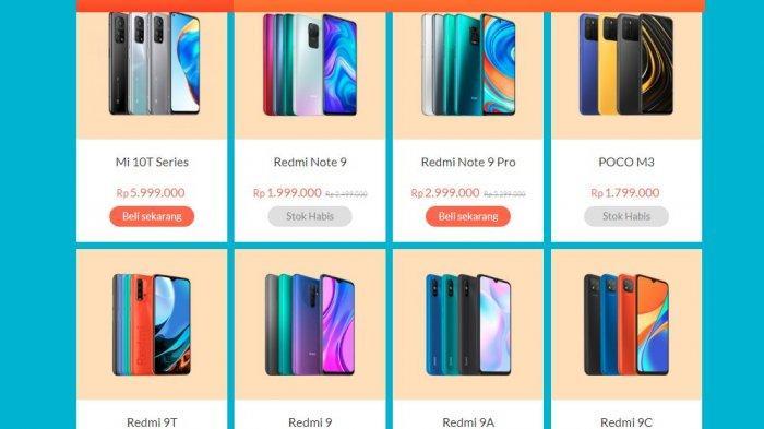 Deretan Harga Redmi Rp 1 Jutaan RAM 4GB: Redmi 9T, Redmi Note 9, Redmi Note 10, Poco M3