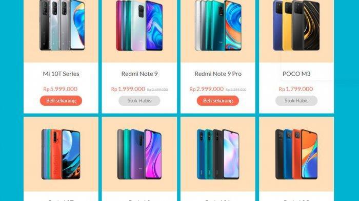 Harga Redmi Rp 1 Jutaan RAM 4 GB, Ada Redmi 10, Redmi 9T, Note 10 Pro hingga Poco M3