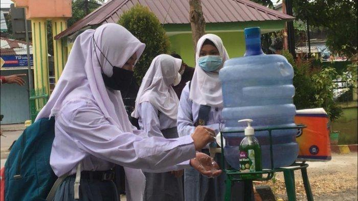 Belajar Tatap Muka SMA/SMK di Provinsi Jambi Berjalan Lancar, Disdik Belum Terima Laporan Negatif