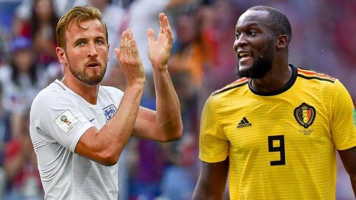 Top Skor Piala Dunia 2018 - Harry Kane Puncaki Daftar, Lukaku Semakin Jauh