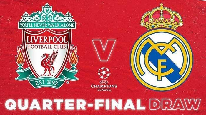HASIL Drawing Liga Champions Babak Perempat Finals, Bayern Vs PSG, Real Madrid Vs Liverpool