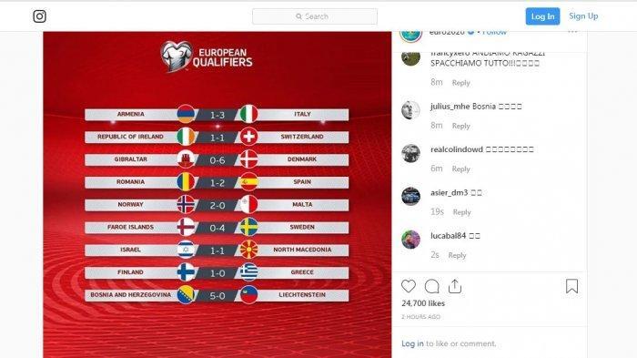 SEDANG TANDING Ceko vs Inggris, Kualifikasi Euro 2020 Link & Cara Live Streaming Mola TV, 01.45 WIB