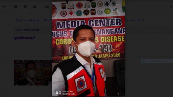 Terjadi Lonjakan Kasus Baru Covid-19, Kabupaten Muarojambi Ditetapkan Berstatus Zona Merah