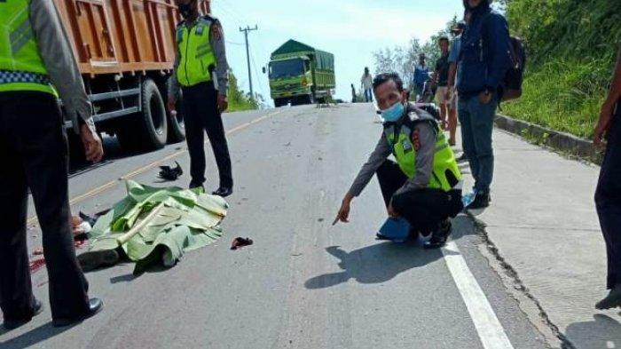 KRONOLOGI Dua Pengendara Asal Provinsi Riau Tewas Terlindas Mobil Box di Muarojambi