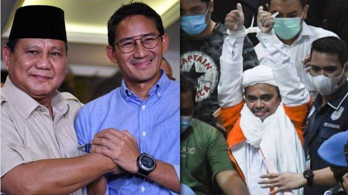 Rizieq Shihab Gigit Jari! Disebut Tak Akan Dapat Petolongan dari Prabowo-Sandi, Refly Harun: Takut!
