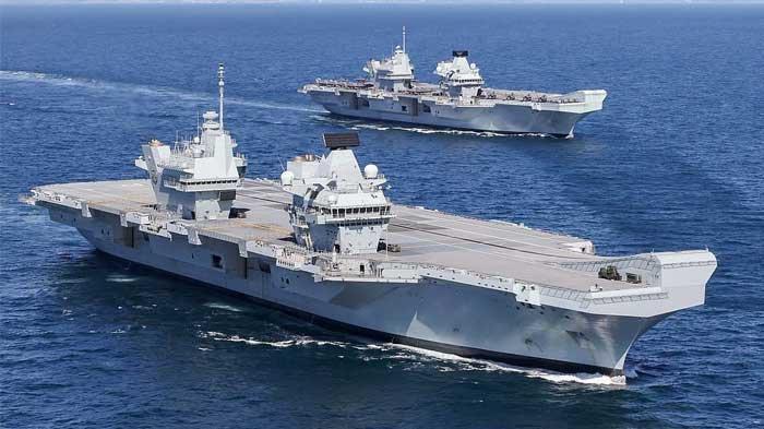 ULAH Kapal Induk HMS Queen Elizabeth yang Obok-obok Laut China Selatan Buat PLA Siap Usir Inggris