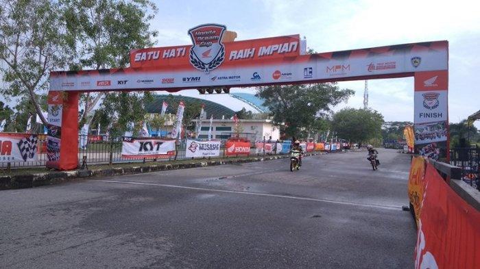 54 Peserta Ikuti Honda Dream Cup 2018 di Rumbai Sport Centre Pekanbaru