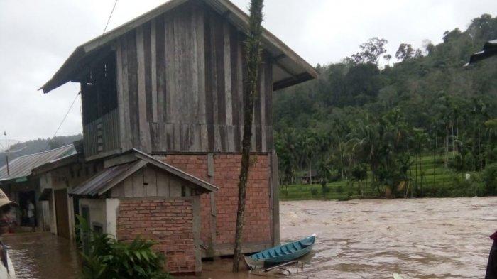 UPDATE Banjir di Merangin, Lima Kecamatan Tergenang, Pantauan Kondisi Siang Ini