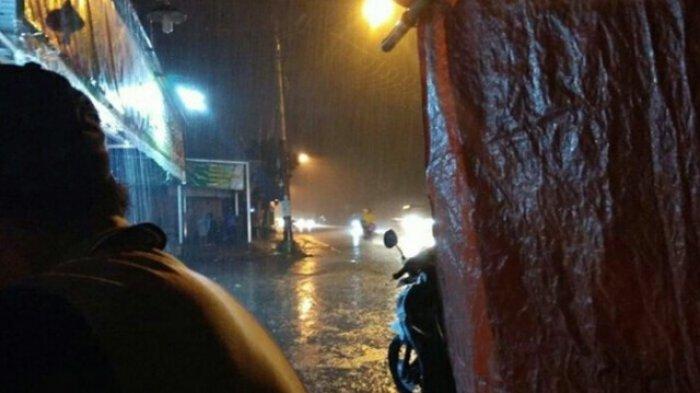 Hujan Intens Guyur Tebo, BPBD Sebut Belum ada Laporan Banjir