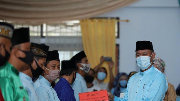 HUT Ke- 21, Bupati Sukandar Sampaikan Capaian Pembangunan Kabupaten Tebo