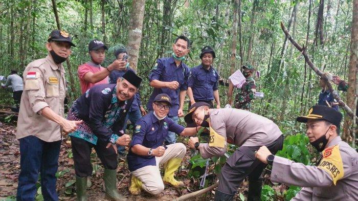 Janji Bersama Menjaga Hutan Adat di Desa Temenggung, Forkompinda Dukung Pelestarian Hutan