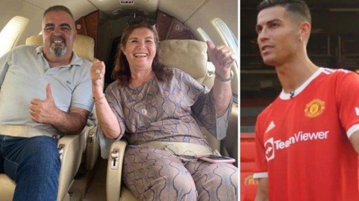 Ibu Cristiano Ronaldo Naik Jet Pribadi Untuk Melihat Debut Kedua Anaknya di Man United