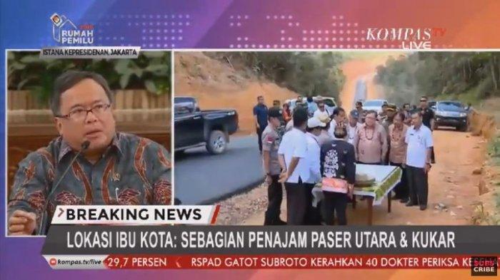 BREAKING NEWS Lokasi Ibu Kota Baru di Sebagian Wilayah Penajam Paser Utara dan Kutai Kartanegara