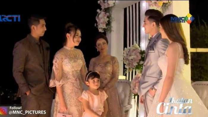 Ikatan Cinta 12 Oktober: Andin dan Al Hadiri Pernikahan Putri dan Pengeran, Balon Biru Ditinggal?