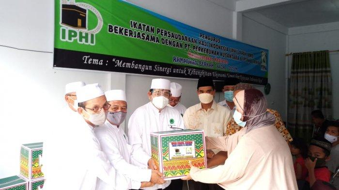 IPHI Jambi Berbagi 700 Paket Ramadhan Berkah dengan Prokes